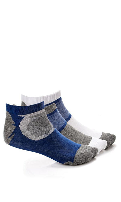 45897 Set Of 3 Liner Slip On Socks - Ravin