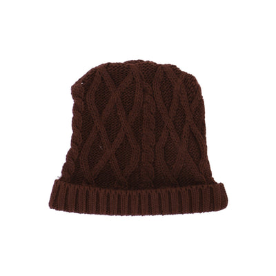 45957 Girls Simple Knitted Burgundy Ice-cape
