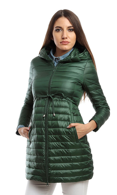 46510 Zipped Waterproof Coat - Green
