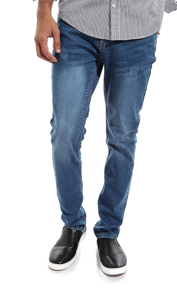 Solid Men Jeans - Dark Blue