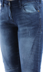 47519 Wash Out Medium Blue Skinny Jeans
