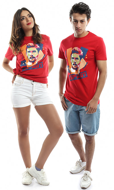 47955 Unisex Spain World Cup T-Shirt - Red
