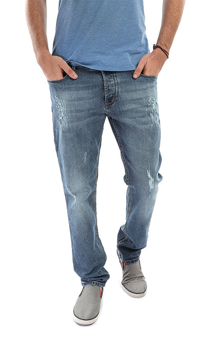 48565 Ripped Jeans - Steel Blue