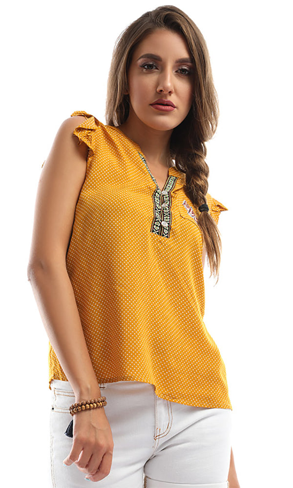 Flutter By Mustard Bolka Dots Top