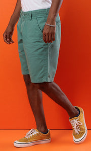 Casual Jeans Short - Green