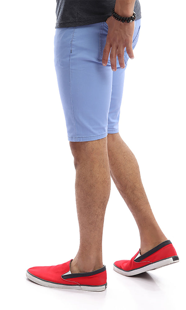 Comfortable Summer Men Short - Light Blue