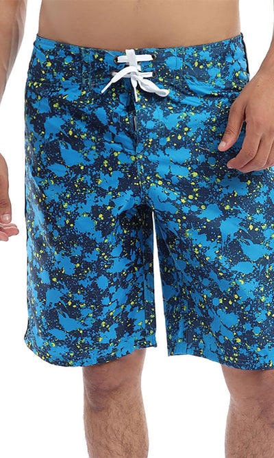 49221 Unique Vintage Blue Swimshorts