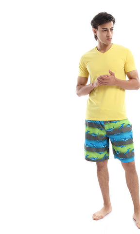 49257 Adorable Dolphins Swim Shorts