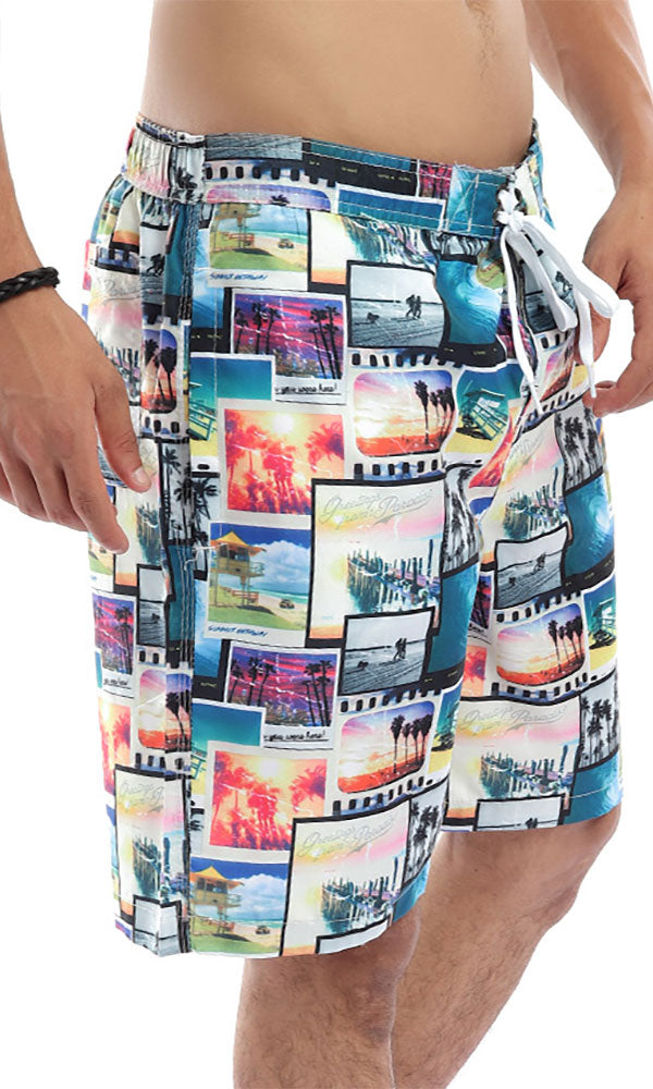 Summer Getaway Colourful Swimshorts