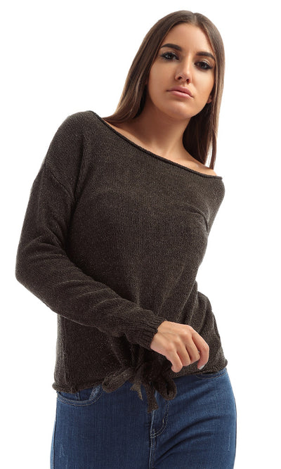 51025 GLAM GLAM! Glittery Knot Pullover