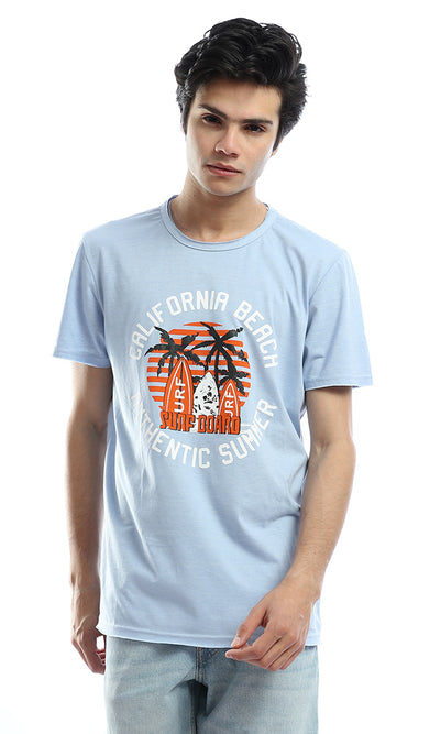 53053 California Beach Cornflower Blue T-Shirt