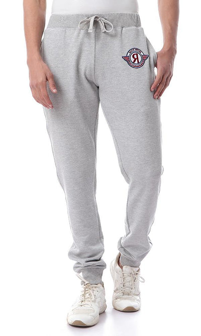 54337 مريح الخصر مطاطا لينة هيذر غراي Sweatpants