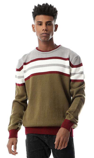 55470 Colored Round Slip On Pullover