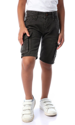 90537 Cargo Casual Dark Grey Shorts