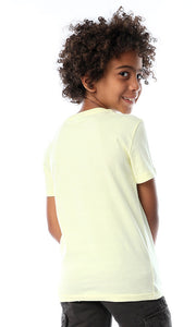90623 Boys Chiffon Lemon Trouble Tee