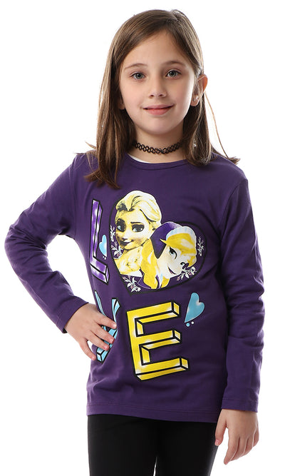 90707 Girls Esla Flip Cool Tee