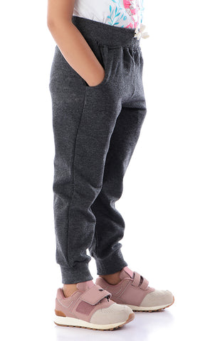 90752 Girs Pull-On French Terry Joggers