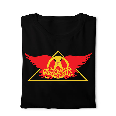 Aerosmith - Digital Graphics Basic T-shirt Black