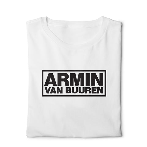 Armin Van Buuren  - Digital Graphics Basic T-shirt White