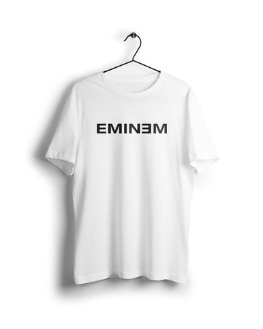 Eminem - Digital Graphics Basic T-shirt White