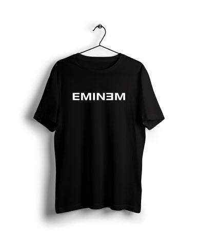 Eminem - Digital Graphics Basic T-shirt Black