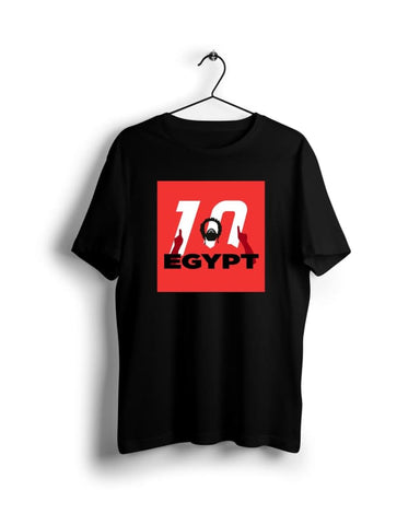 ACON Egypt Mo Salah - Digital Graphics Basic T-shirt Black - POD