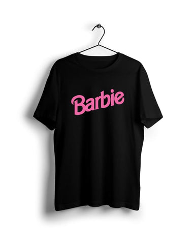 Barbie - Digital Graphics Basic T-shirt Black - POD