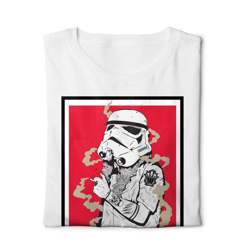 Break It Star Wars - Digital Graphics Basic T-shirt White - POD