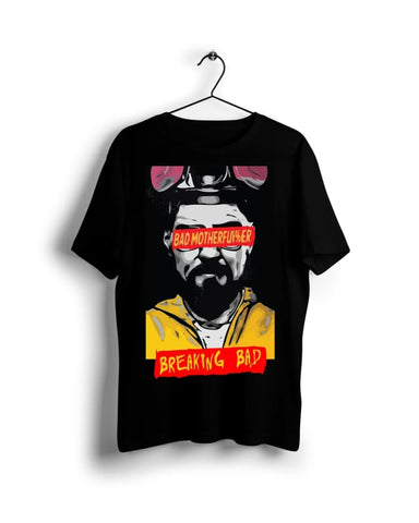 Breaking Bad - Bad Mother Fu*$kers collection- Digital Graphics Basic T-shirt black - POD