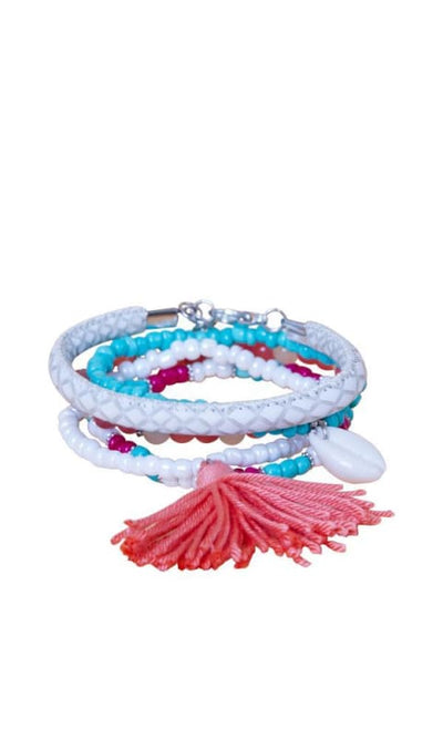 Bundle Of 5 Casual Bracelets - Multicolour - women jewellery
