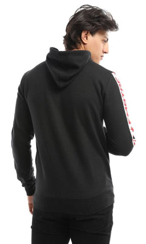 CairoKee Collection Empire Off Dutty Black Hoodie - male hoodies & sweatshirts