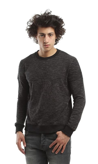 CairoKee Collection Printed Sweatshirt - Dim Grey - male hoodies & sweatshirts
