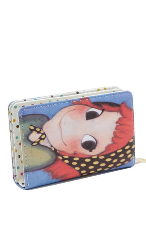 Casual Patterned Wallet - Multicolour - women wallet
