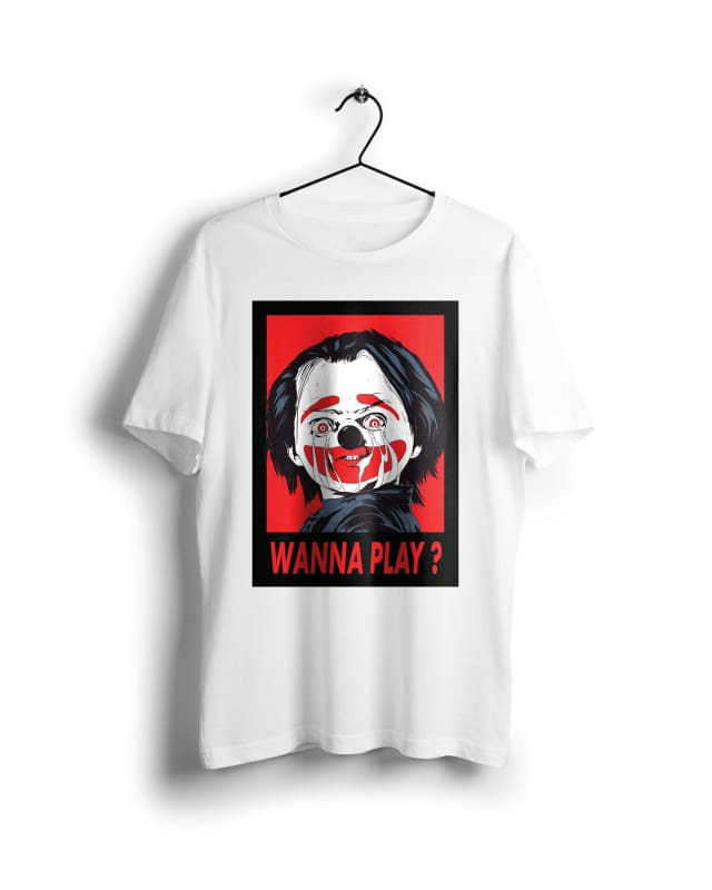 Chucky childs play - Digital Graphics Basic T-shirt White - POD