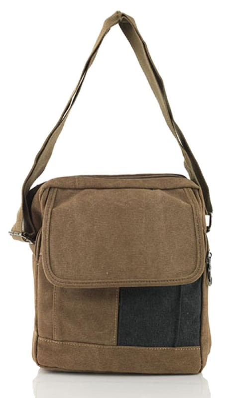 Coffee Cross Body Bag - male bags