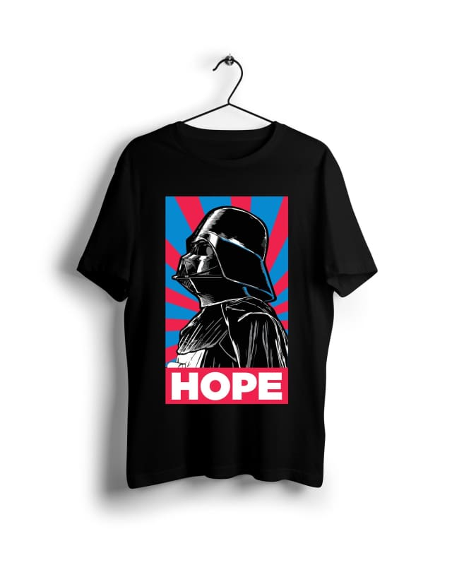 Darth Vader Hope - Digital Graphics Basic T-shirt Black - POD