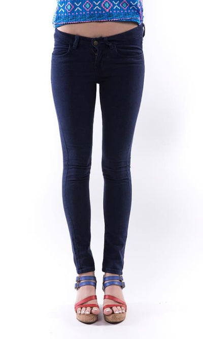 Denim Skinny Fit - Navy Blue - women jeans