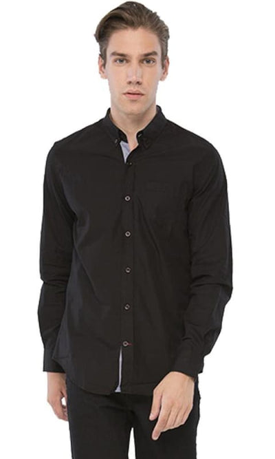 Fancy Shirt - Black - male shirts