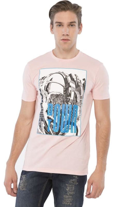Fashionable T-Shirt - Rose - male t-shirts