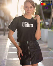 Girlisim - Digital Graphics Basic T-shirt Black