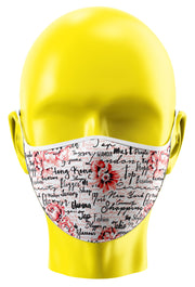 Text Custom Face Mask