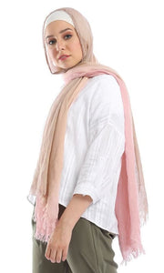 Key Hole Loose White Buttoned Crop Shirt - hijab style