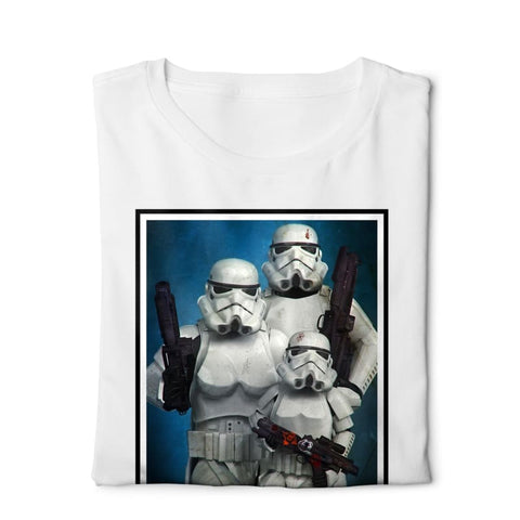 La Familia Star Wars - Digital Graphics Basic T-shirt White - POD