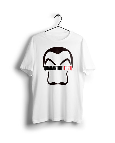 La Casa De Papel - Digital Graphics Basic T-shirt White - Ravin