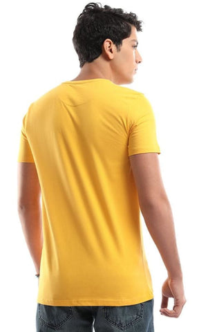 Shh. Im Hunting Wabbits Yellow Tee - male t-shirts