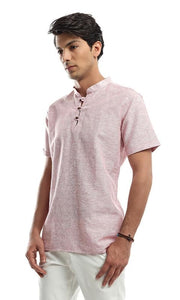 Short Sleeves Shirt - Red - male shirts