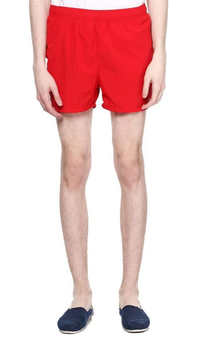 Solid Board Short - Red - male board short