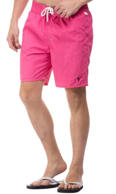Solid Boardshort - Coral - male board short
