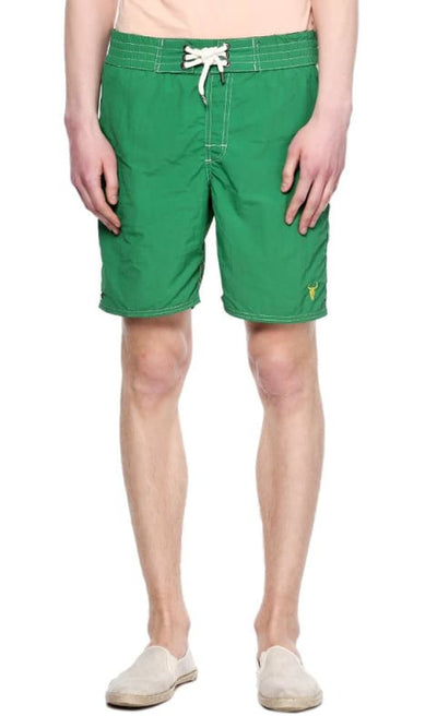 Solid Boardshort - Green - male board short