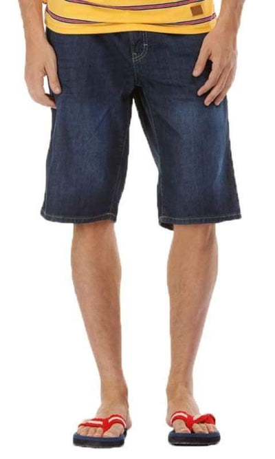 Solid Shorts - Navy Blue - male shorts